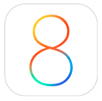 iPhone5をiOS8にアップデートしました