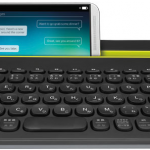 マルチデバイスキーボードが便利 Logicool K480