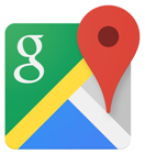 Googleマップの地図の位置情報をパソコンからiPhoneへ送る方法