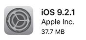 iOS9.2.1がリリースされました。