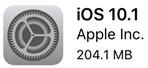 iOS10.1がリリース。Apple Pay対応など